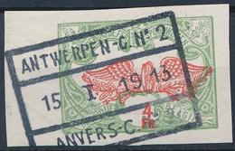 [O SUP] TR45, Non Dentelé Avec Marges énormes Et Superbe Oblitération D'Anvers - Zonder Classificatie
