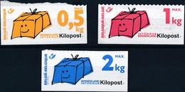 [** SUP] Ki10/12, La Série Complète Non Dentelée En Dessous - Cote: 82€ - Zonder Classificatie