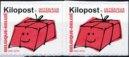 [** SUP] Ki19+19a, Rouge - En Paire - Cote: 23€ - Zonder Classificatie