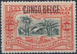 [** SUP] N° 47, 3F50 Vermillon - Fraîcheur Postale Et Centrage Parfait. LUXE - Cote: 190€ - 1894-1923 Mols: Mint/hinged