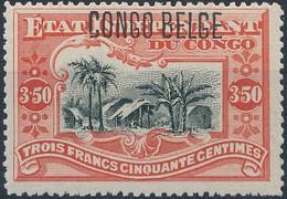 [** SUP] N° 47, 3F50 Vermillon - Fraîcheur Postale - Cote: 190€ - 1894-1923 Mols: Mint/hinged