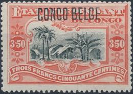 [* SUP] N° 47, 3F50 Vermillon - Légère Trace - Cote: 55€ - 1894-1923 Mols: Mint/hinged