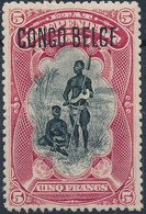 [** SUP] N° 48, 5F Carmin - Fraîcheur Postale - Cote: 310€ - 1894-1923 Mols: Mint/hinged
