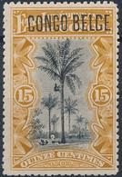 [* SUP] N° 42PT, 15c Ocre - Grande Fraîcheur Et Signé - Cote: 170€ - 1894-1923 Mols: Mint/hinged