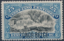 [** SUP] N° 43PT, 25c Bleu - Fraîcheur Postale. Signé Jean Baete - Cote: 250€ - 1894-1923 Mols: Mint/hinged