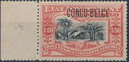[** SUP] N° 47PT, 3,50 Vermillon - Fraîcheur Postale Et Bord De Feuille. Signé - Cote: 400€ - 1894-1923 Mols: Mint/hinged