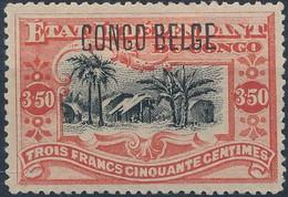 [* SUP] N° 47PT, 3,50 Vermillon - Grande Fraîcheur - Cote: 240€ - 1894-1923 Mols: Mint/hinged