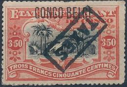 [* B/TB] TX24, 3,50 Rouge - Tirage Des Princes - 1894-1923 Mols: Mint/hinged