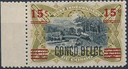 [** SUP] N° 87A, 15c/50c Surcharge CONGO BELGE - Fraîcheur Postale Et Bord De Feuille - Cote: 190€ - 1894-1923 Mols: Mint/hinged