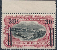 [** SUP] N° 89A, 30c/10c De 1915 - Fraîcheur Postale Et Bord De Feuille. Signé - Cote: 120€ - 1894-1923 Mols: Mint/hinged