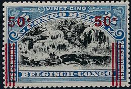 [** SUP] N° 90A, 50c/25c De 1915 - Fraîcheur Postale - Cote: 120€ - 1894-1923 Mols: Mint/hinged