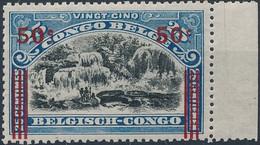 [** SUP] N° 90A, 50c/25c De 1915 - Fraîcheur Postale Et Bord De Feuille - Cote: 190€ - 1894-1923 Mols: Mint/hinged