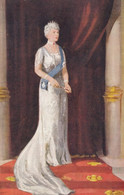 Queen Of UK, Mary Of Teck Portrait Silver Jubilee 1935, C1930s Vintage Postcard - Familias Reales