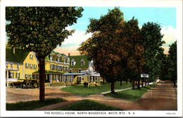 New Hampshire White Mountains North Woodstock The Russell House Curteich - White Mountains