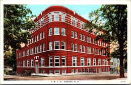 New Hampshire Nashua Y M C A Building 1932 Curteich - Nashua