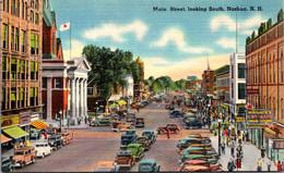 New Hampshire Nashua Main Street Looking South - Nashua