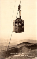 New Hampshire Cannon Mountain Aerial Passenger Tramway Real Photo - White Mountains