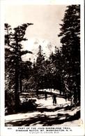 New Hampshire Mt Washington Pingham Notch Part Of John Sherburne Trail 1951 Real Photo - White Mountains
