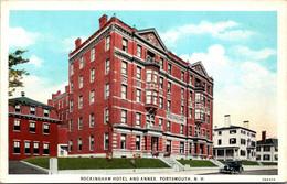 New Hampshire Portsmouth Rockingham Hotel And Annex Curteich - Sonstige