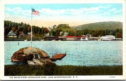 New Hampshire Lake Winnipesaukee The Weirs From Interlaken Park - Sonstige