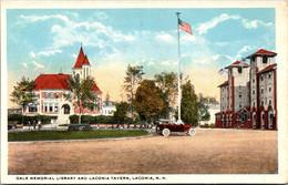New Hampshire White Mountains Laconia Gale Memorial Library And Laconia Tavern - White Mountains