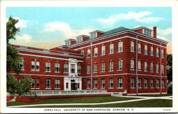 New Hampshire Durham James Hall University Of New Hampshire Curteich - Sonstige