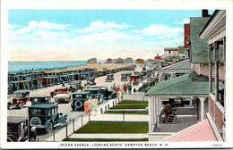 New Hampshire Hampton Beach Ocean Avenue Looking South Curteich - Sonstige