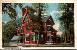 New Hampshire Franklin Hospital 1922 - Sonstige
