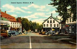 New Hampshire Hillsboro Central Square Curteich - Sonstige
