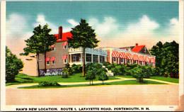 New Hampshire Portsmouth Ham's Restaurant New Location Route 1 - Sonstige