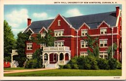New Hampshire Durham Smith Hall University Of New Hampshire Curteich - Sonstige