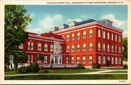 New Hampshire Durham Charles James Hall University Of New Hampshire Curteich - Sonstige