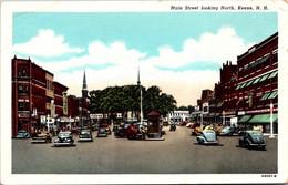 New Hampshire Keene Main Street Looking North Curteich - Sonstige