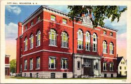 New Hampshire Rochester City Hall 1943 - Rochester
