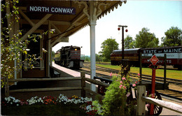 New Hampshire North Conway Railroad Depot - White Mountains