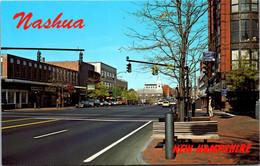 New Hampshire Nashua Main Street Looking North - Nashua