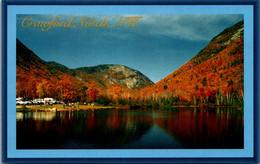 New Hampshire Crawford Notch Autumn Scene - White Mountains