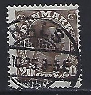 Denmark  1921-22  Christian X (o) Mi.121 (cancelled HALS) - Used Stamps