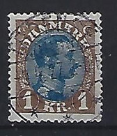 Denmark  1921-22  Christian X (o) Mi.128 (cancelled TROENSE) - Used Stamps
