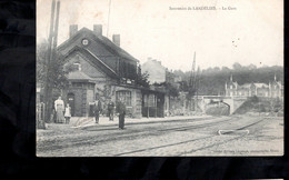 659-LANDELIES-la Gare Station Statie - Montigny-le-Tilleul