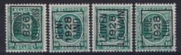 Nr. 194  TYPO Voorafgestempeld In 1928 Met De Nrs. 178B , 180A , 181A En 182A Allen ** MNH In Zéér Goede Staat ! - Typo Precancels 1922-31 (Houyoux)