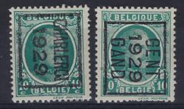 Nr. 194  TYPO Voorafgestempeld In 1929 Met De Nrs. 197B En 198B Beiden ** MNH In Zéér Goede Staat ! - Typo Precancels 1922-31 (Houyoux)