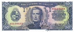 URUGUAY 1967 50 Peso - P.46a  Neuf UNC - Uruguay