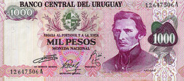 URUGUAY 1974 1000 Peso - P.52a  Neuf UNC - Uruguay