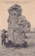 56 -- St-Pierre - Quiberon -- Le Géant Du Moulin -- Menhir Faisant Partie Des Alignements De St-Pierre --- 730 - Quiberon