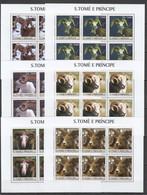 KV015 2003 S. TOME E PRINCIPE ANIMALS RAMS 6SET MNH - Other