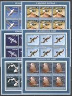 KV123 2002 MOZAMBIQUE FAUNA BIRDS SEAGULLS 6SET MNH - Marine Web-footed Birds