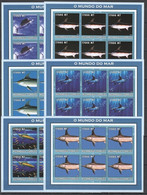 KV157 2002 MOZAMBIQUE FISH & MARINE LIFE 6SET MNH - Marine Life