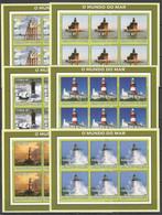 KV171 2002 MOZAMBIQUE ARCHITECTURE LIGHTHOUSES 6SET MNH - Lighthouses