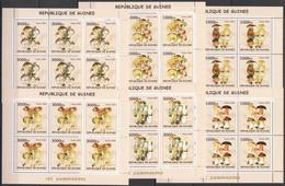 KV271 2002 GUINEA FLORA NATURE MUSHROOMS LES CHAMPIGNONS !!! 6SET MNH - Mushrooms